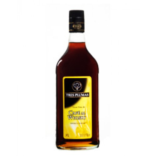 Licor Tres Plumas café al whisky 750 cc