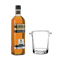 Whisky Black Williams 750Ml + Hielera