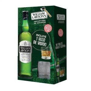 Whisky William Lawson's + Vaso